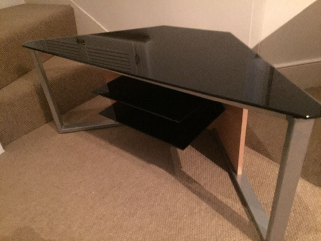 Quality Glass top TV stand