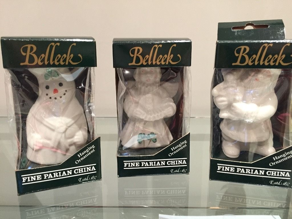 Belleek Christmas Decorations