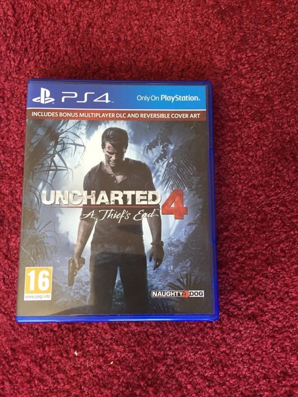 Uncharted thiefs end ps4