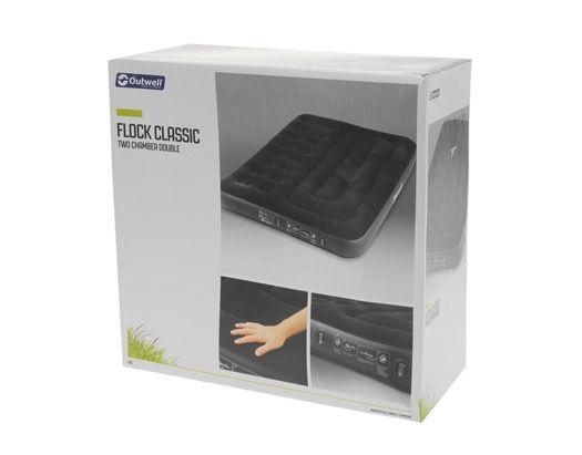 OUTWELL FLOCK 2 CHAMBER DOUBLE AIRBED (BNIB)