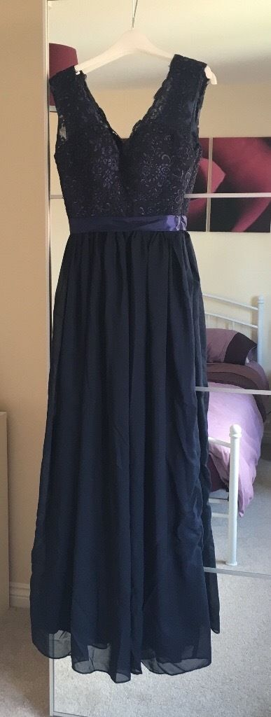 Navy bridesmaid dress size 6