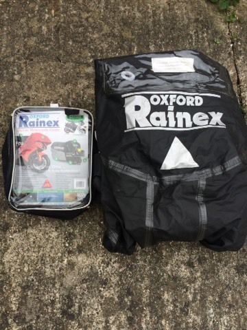 Oxford Rainex motorbike cover (medium)