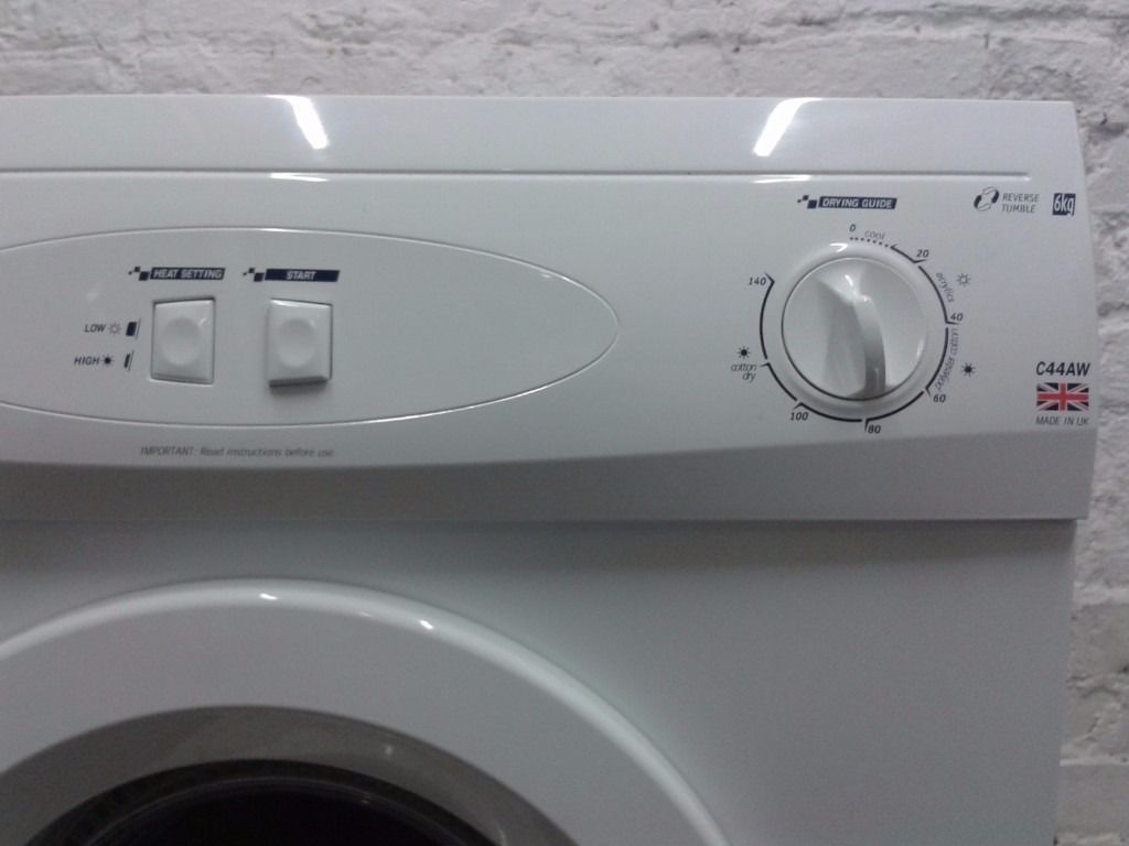 WHITE KNIGHT C44AW Vented Tumble Dryer :: 6Kg :: Free delivery & guarantee
