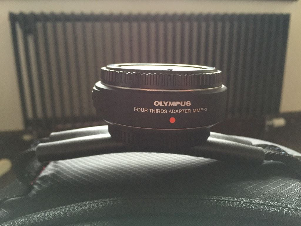 Olympus MMF-3 lens adapter for 4/3 to micro 4/3