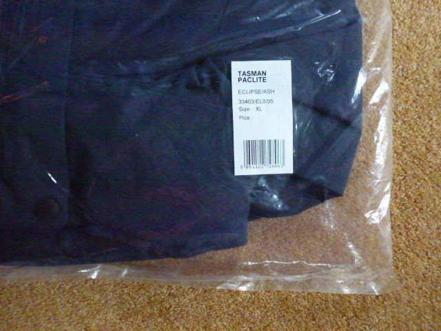 BERGHAUS Mens Tasman Paclite Waterproof Jacket: Size XL - As new