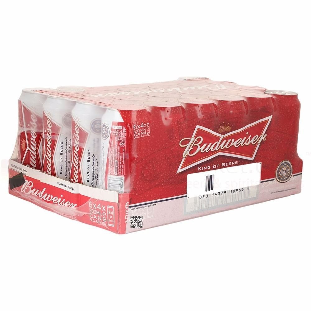 Free Beer - 2 months past sell by date 4 x 24 bud