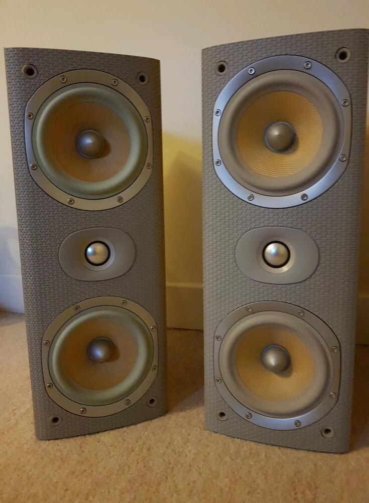 B&W lcr60 s3 speakers