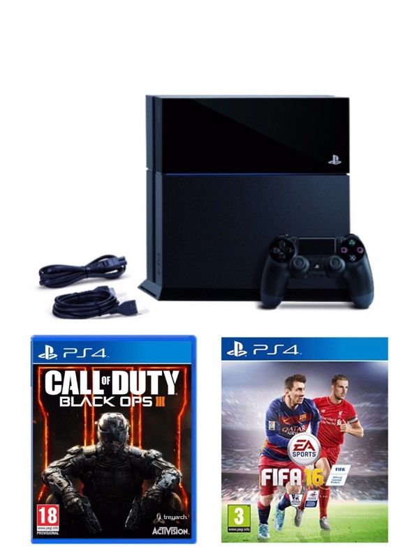 PlayStation 4 plus 3 games