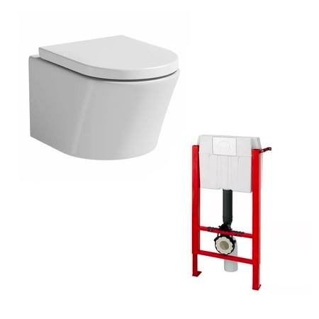 WALL HUNG TOILET (2 available) - brand new, packaged