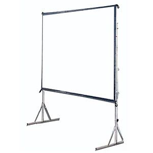 10 foot wide screen with legs and carry box