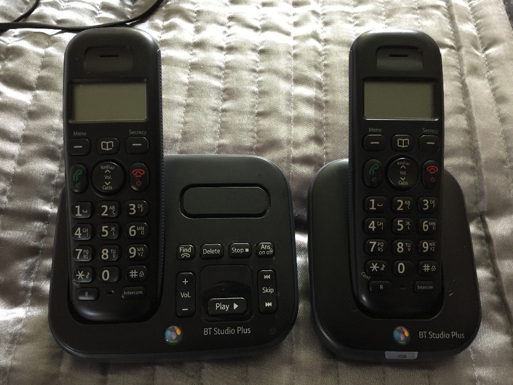 BT Studio Twin Phone with Built in Answer Machine