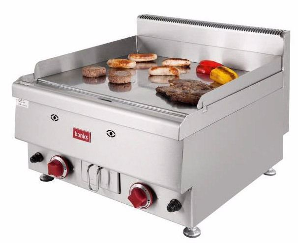 Gas griddle twin burner from Banks GGC600 BRAND NEW