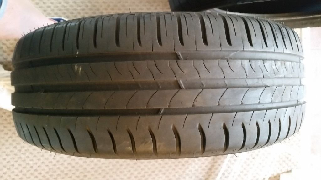 2 X 205/55R16 TYRES FOR SALE - 5MM TREAD LEFT