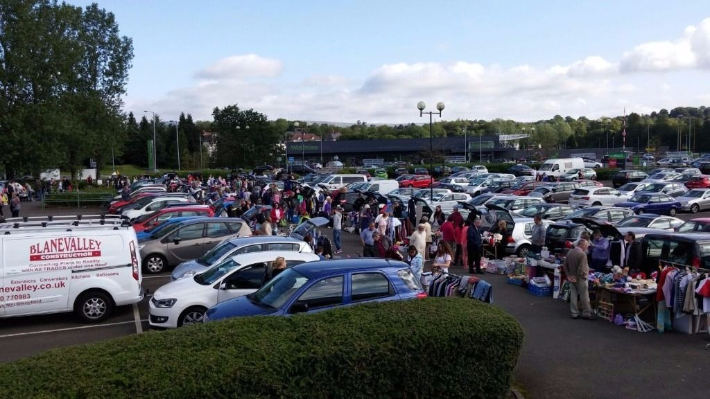 Milngavie Sunday Car Boot Sale