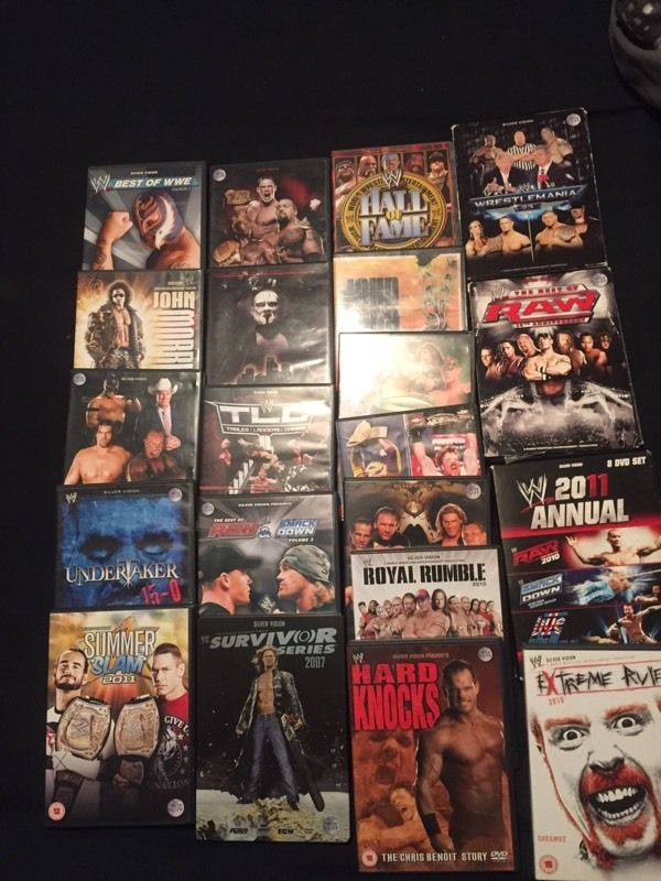 Wwe DVDs must go