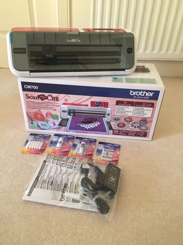 Brother Scan n Cut CM700 - new and unused