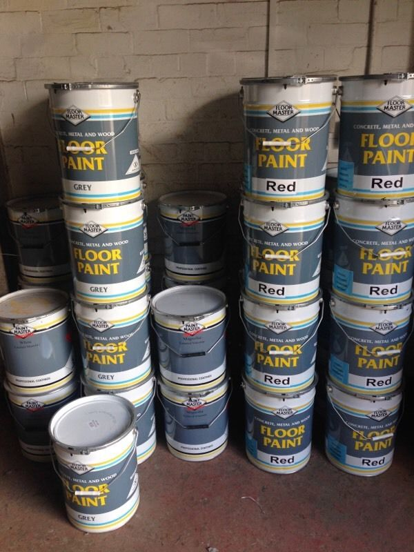 Paint Master Floor, Masonry and Rood/Tile Paint (20L Drums)