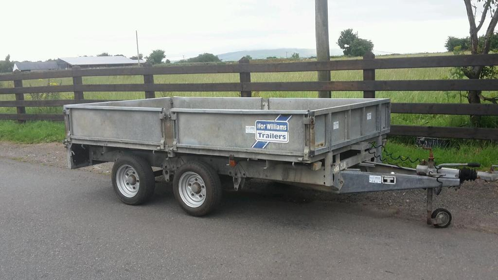 Ifor Williams trailer 10x5-6