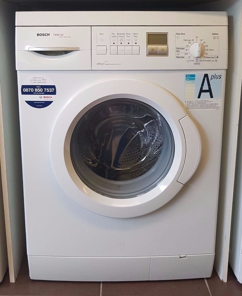 Bosch Exxcel 1200spin Washing Machine, 6 Months Warranty (Ref: 311814)