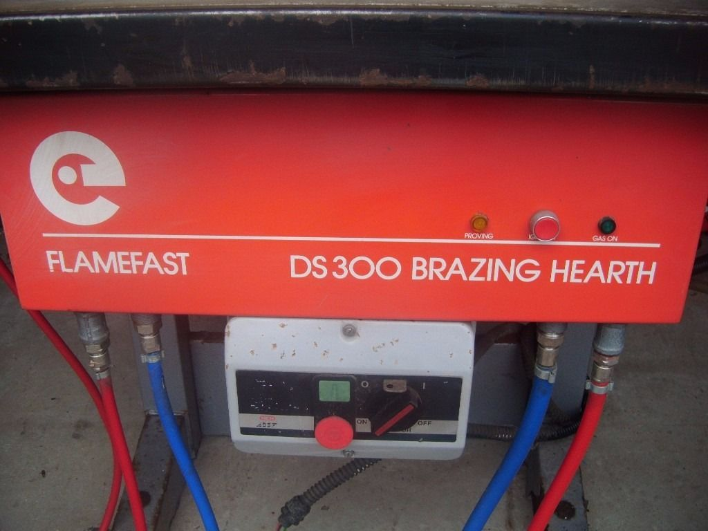 Flamefast DS 300 Brazing Hearth.