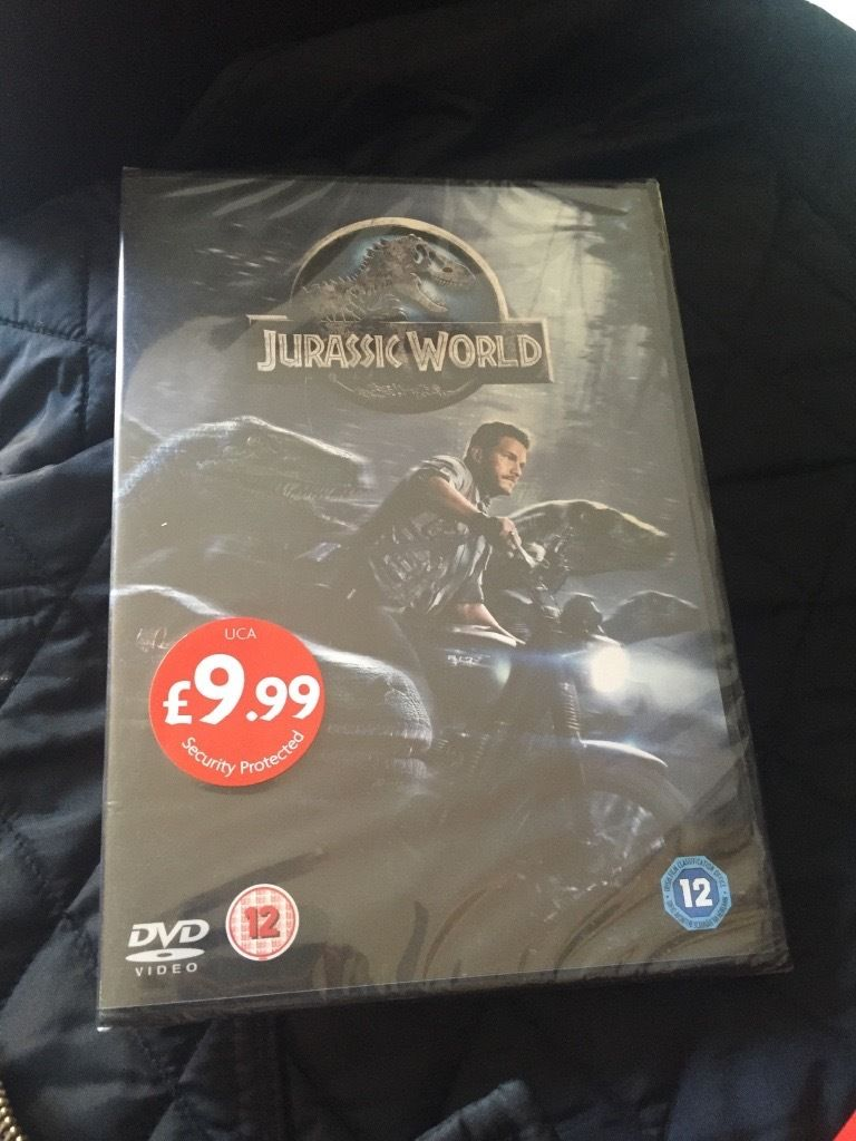 DVD Jurassic World brand new factory sealed
