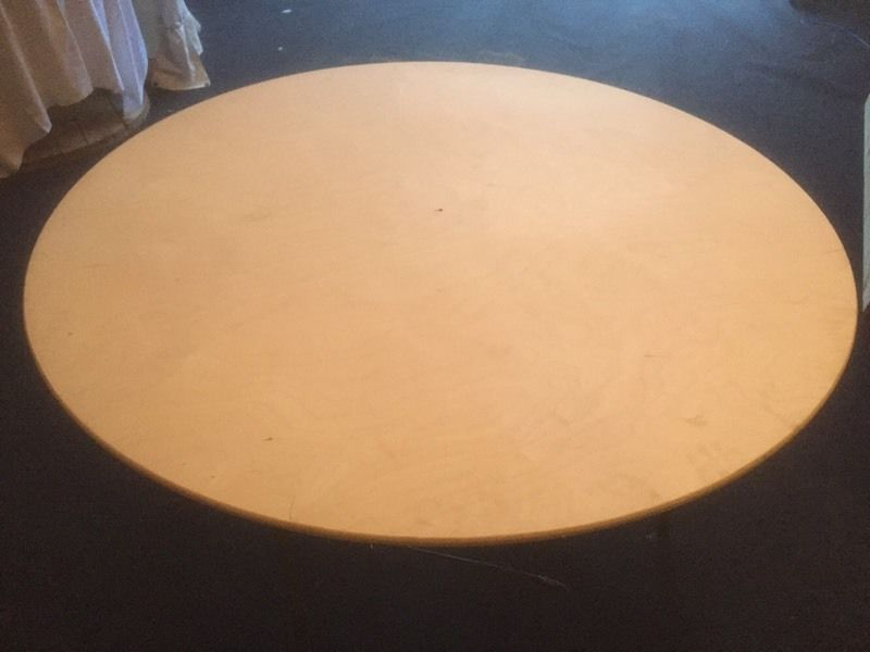 5ft round trestle tables for hire