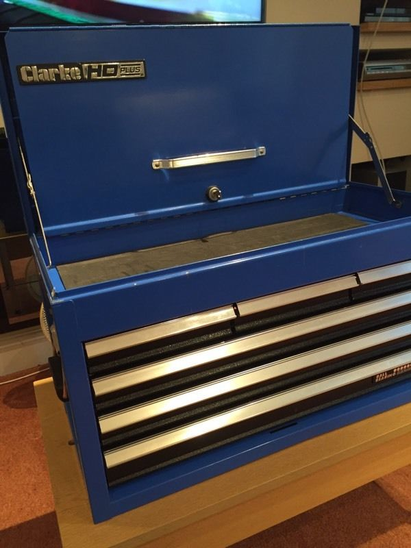 Clarke HD Plus 6 drawer tool chest.