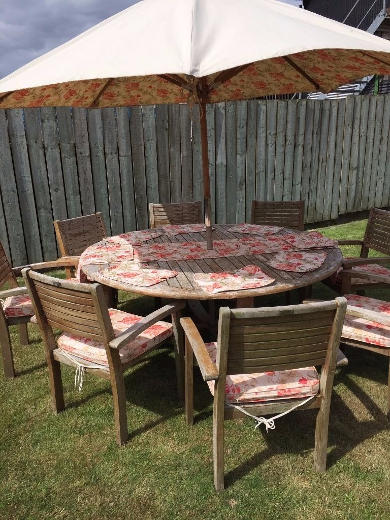 Laura Ashley 8 seater Garden furniture set