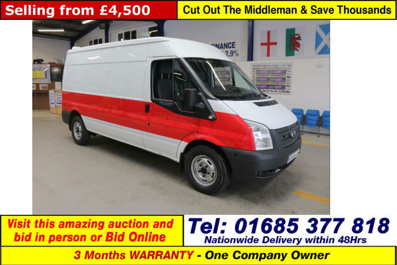 2012 - 12 - FORD TRANSIT T350 2.2TDCI 140PS MEDIUM HIGH ROOF LWB VAN (GUIDE PRIC