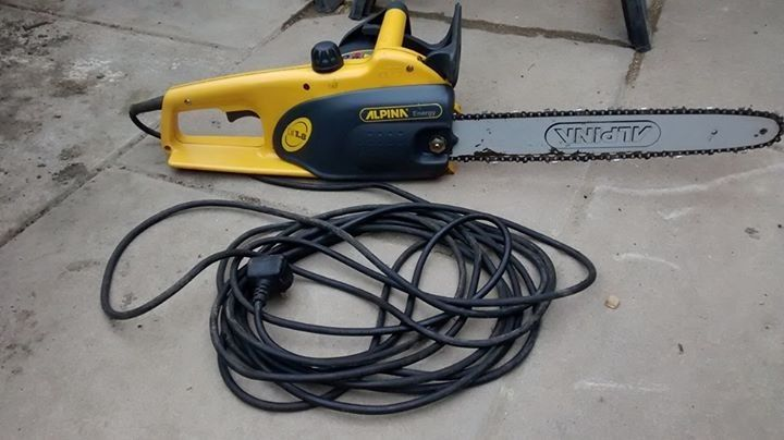 Alpina 1.8 electric chainsaw