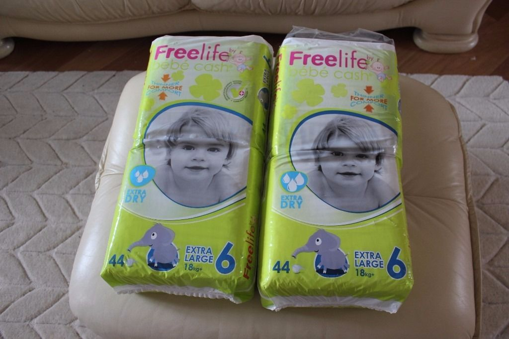 Nappies size 6