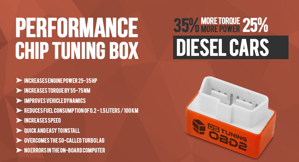 OBD Performance Chip Tuning Box (Peugeot Diesel Car Only)