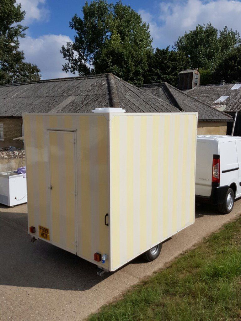 Mobile Ice Cream Catering Trailer | Doughnuts | Candy Floss | Slush | Sweets | Coffee | Burger Van