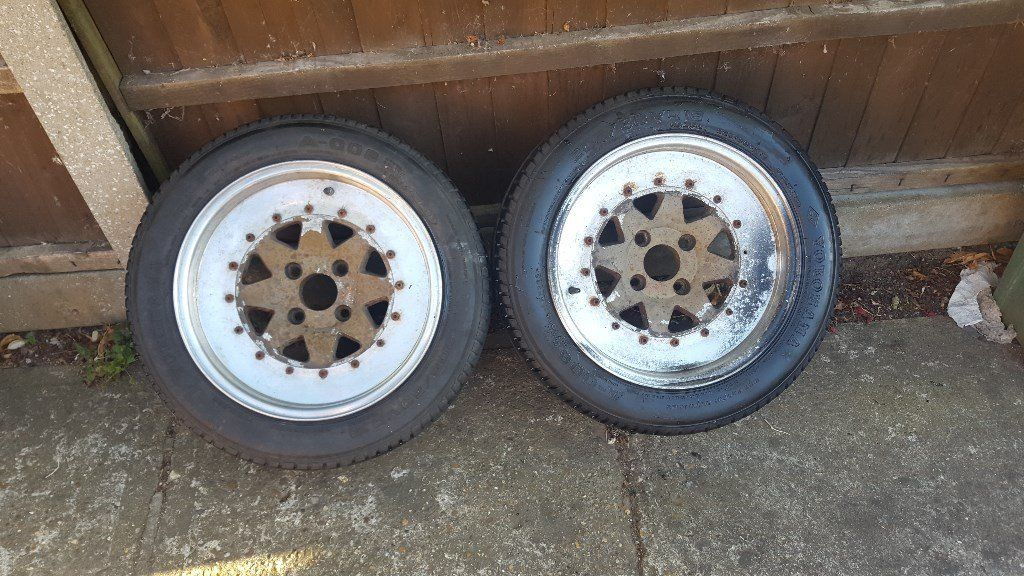 Ford Ultima Wheels x2 and tyres