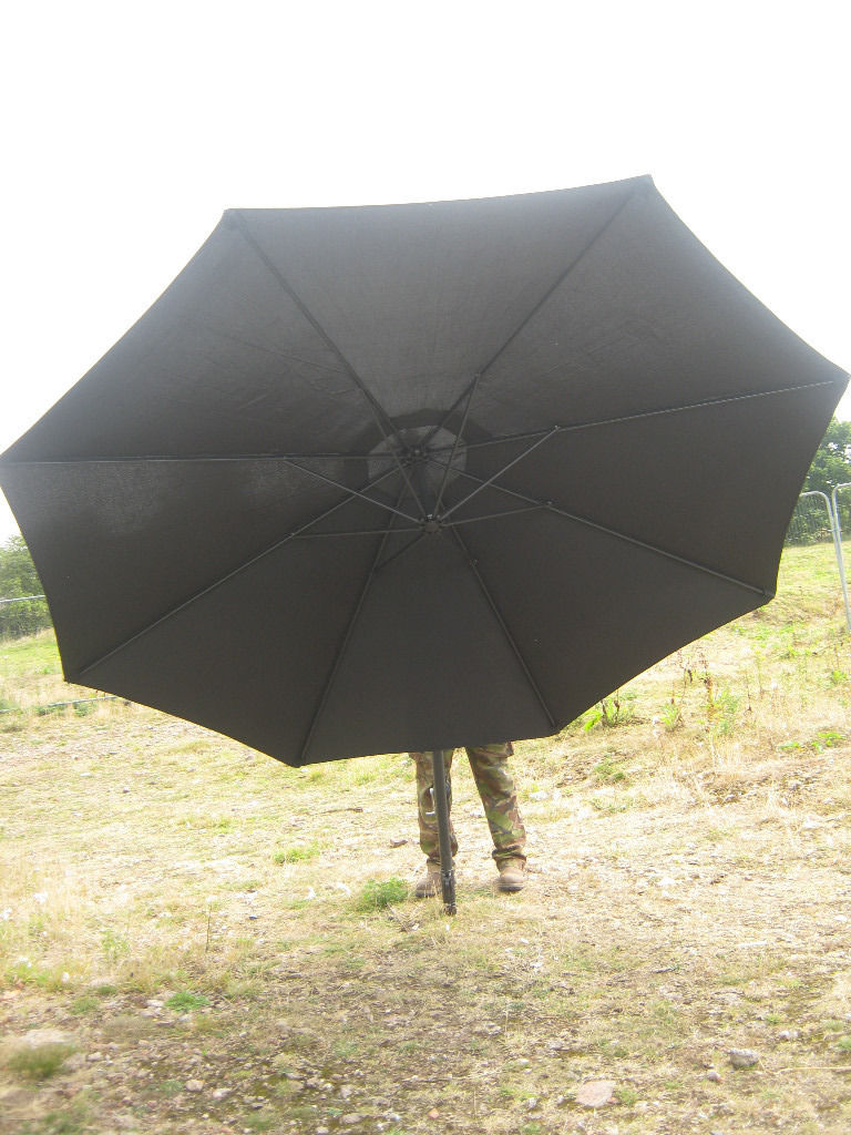 Top Section Of Banana Parasol Black