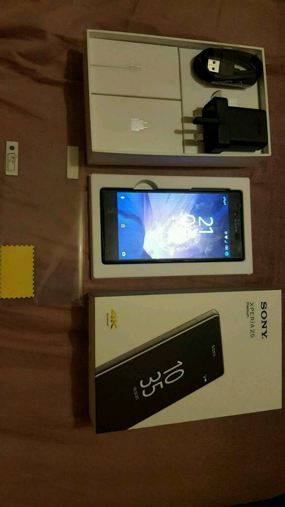 Sony experia z5 premium mint condition