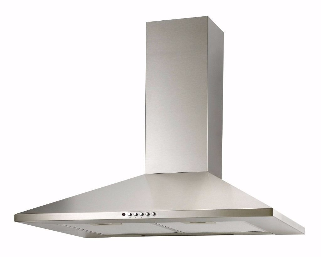 Cooke and Lewis Cooker hood, Silver Effect 502931268337 B&Q £117