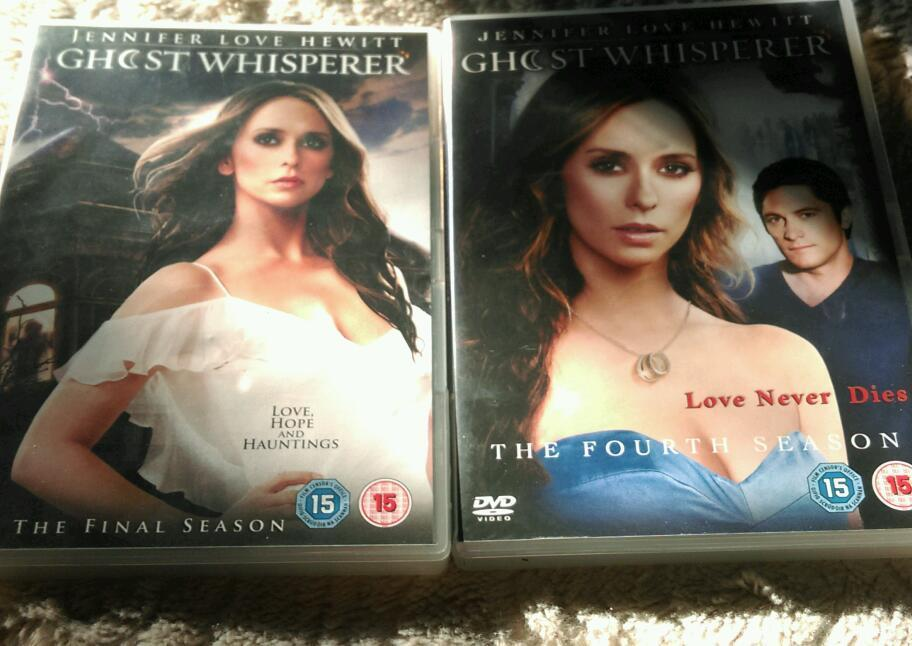 Ghost whisperer DVD box sets series 4 and 5
