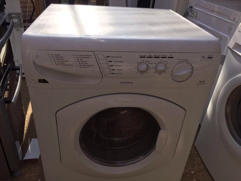 Hot point washer dryer good condition free delivery £100