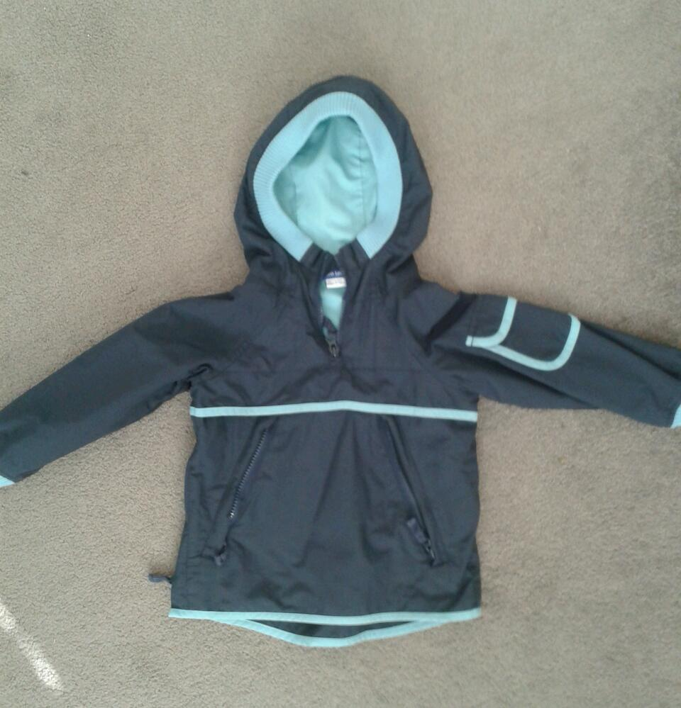 Quarter zip boy's pull over jacket, size 2-3 years