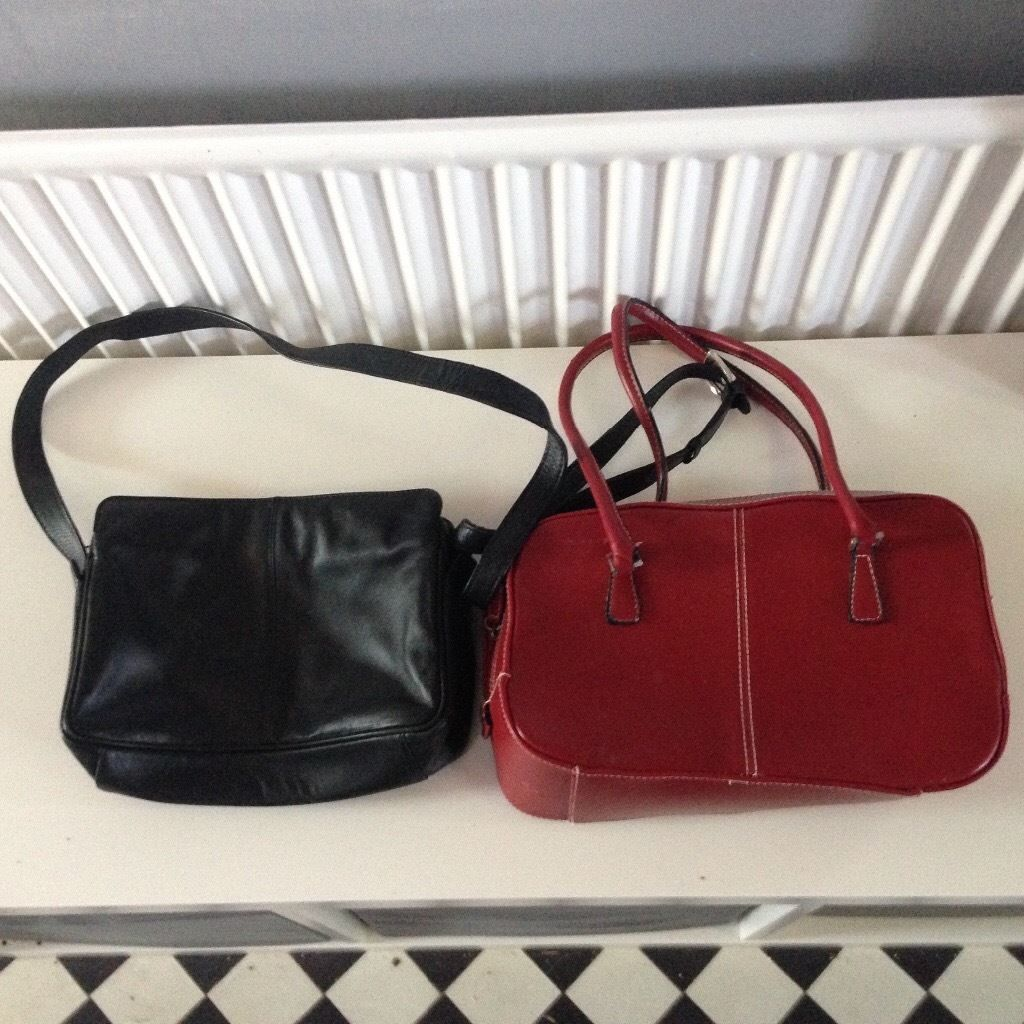 Hotter Hand Bag & Red One