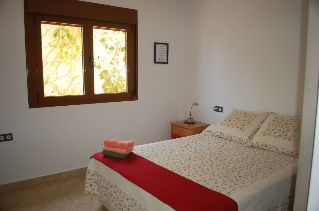 Double Bedroom shared with family in Gojar, Granada, Spain.