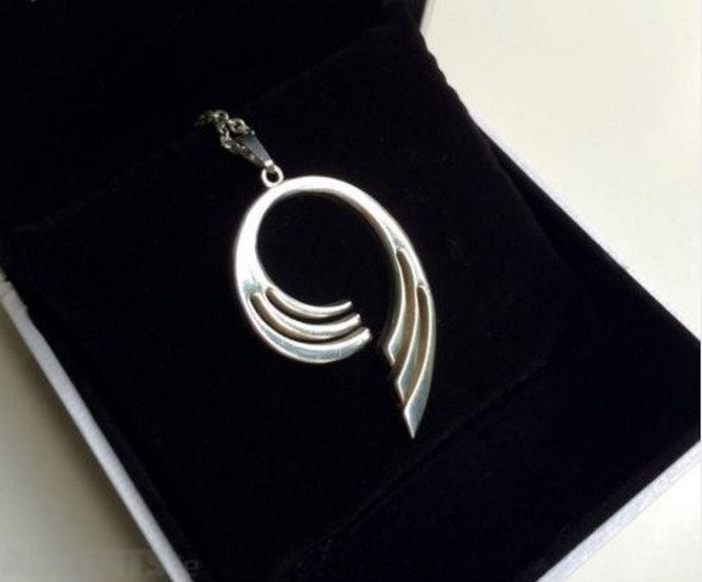Sterling silver necklace for sale
