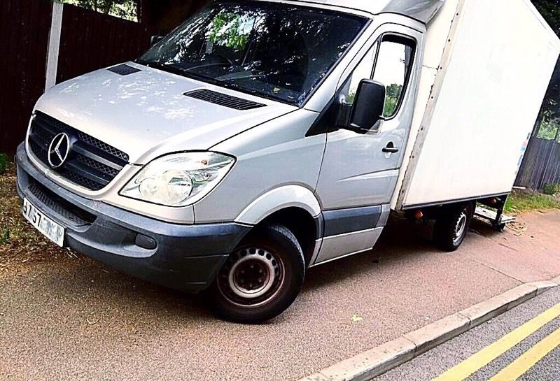 **MUST SELL TODAY*** 57 MERCEDES SPRINTER LUTON BOX VAN AUTO **** LWB 3.5 MAXUS CRAFTER TRANSIT MWB