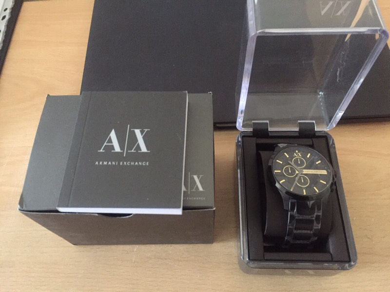 Armani Watches - Brand New in Box