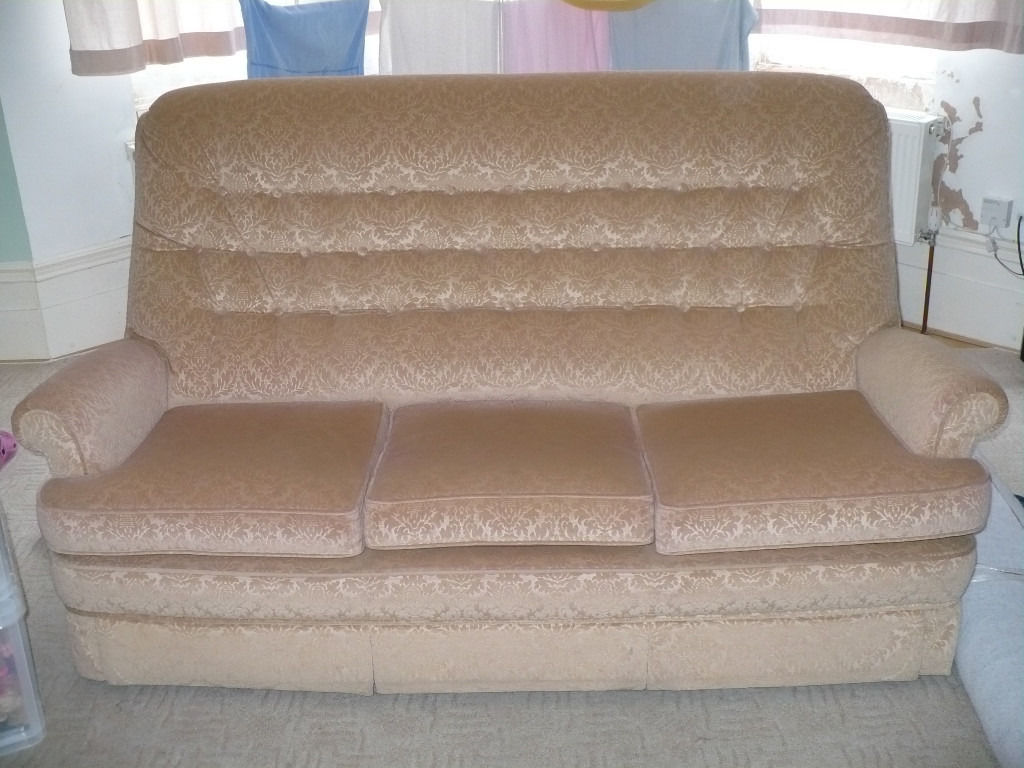 Parker Knoll 3 Seater Large Sofa with Wheels from John Lewis for sale. Very good cond. Make offer..