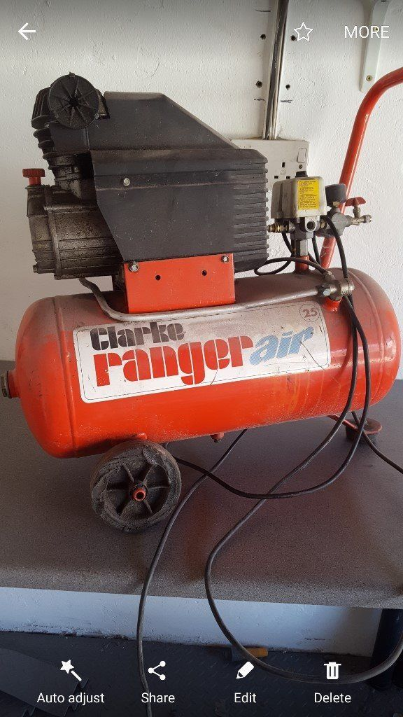 25 litre air compressor great working condition