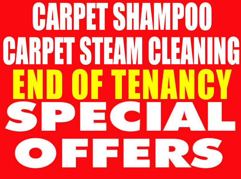 FREE VAT, 50% OFF CARPET CLEANERS, END OF TENANCY CLEANING, MOVE-IN HOUSE PROFESSIONAL DOMESTIC CLEA