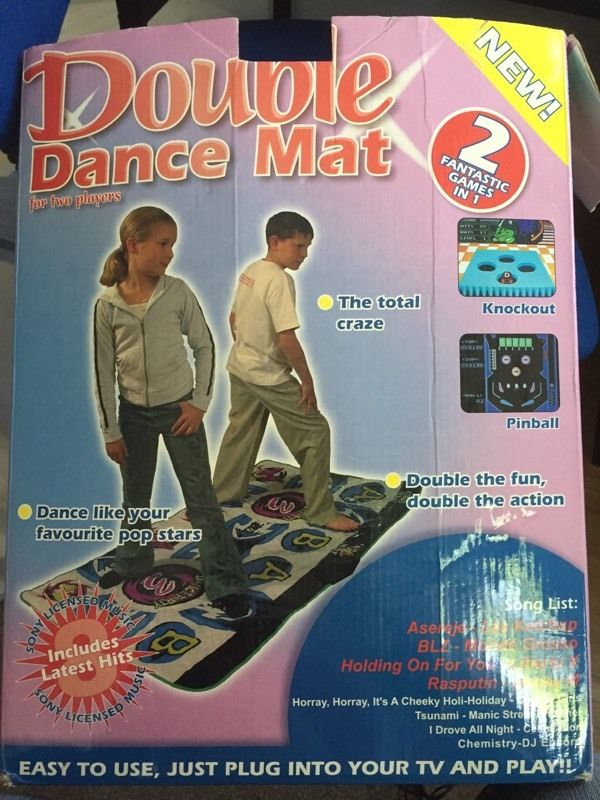 Dance mat just plug into your TV