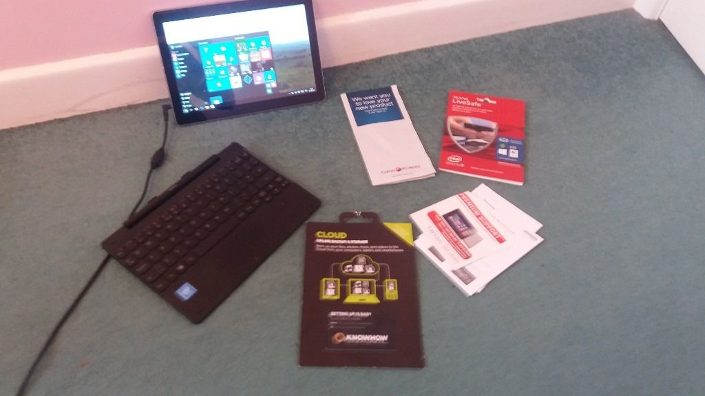 Lenovo ideapad. barely used small laptop for sale. specs are shown in photos.